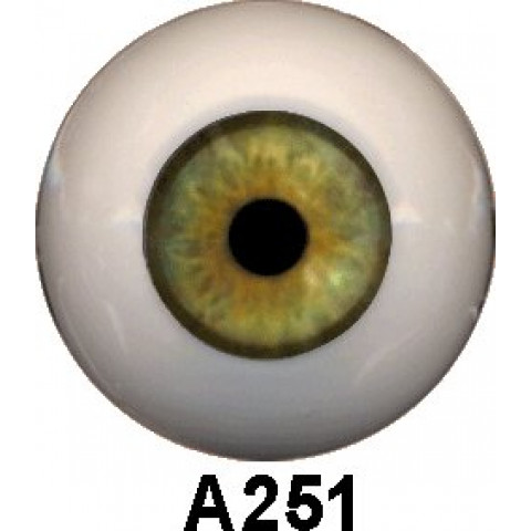 Olhos em Silicone Eyeco Platinum Cor A 251 ( vários tamanhos)