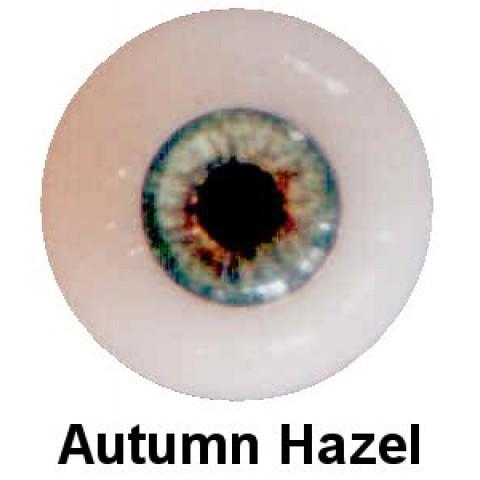 Olhos em Silicone Eyeco Platinum Cor Autumn Hazel - 19mm