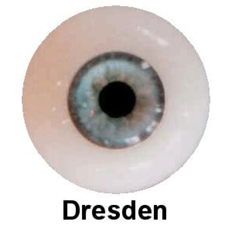 Olhos em Silicone Eyeco Platinum Cor Dresden-19mm