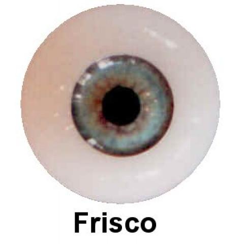 Olhos em Silicone Eyeco Platinum Cor Frisco -17mm