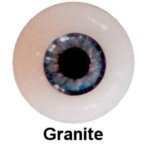 Olhos em Silicone Eyeco Platinum Cor Granite-17mm