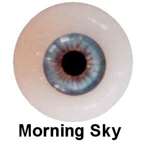 Olhos em Silicone Eyeco Platinum Cor Morning Sky -23mm