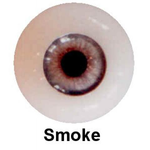 Olhos em Silicone Eyeco Platinum Cor Smoke-23mm