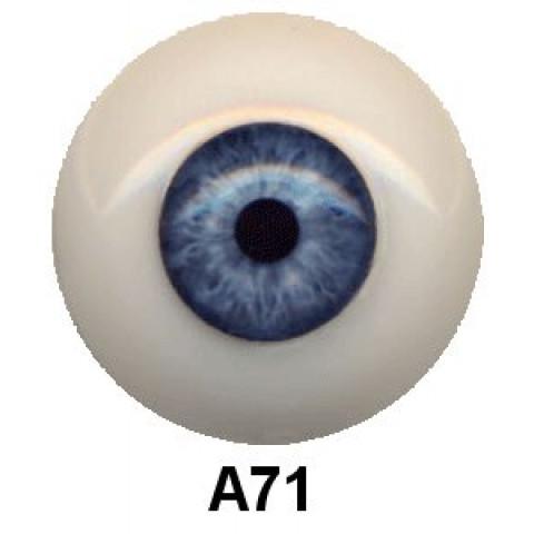 Olhos em Silicone Eyeco Ultra Cor A071  -19mm