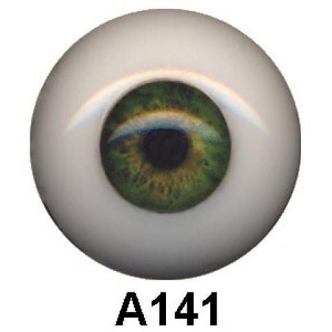 Olhos em Silicone Eyeco Ultra Cor A141 -23mm