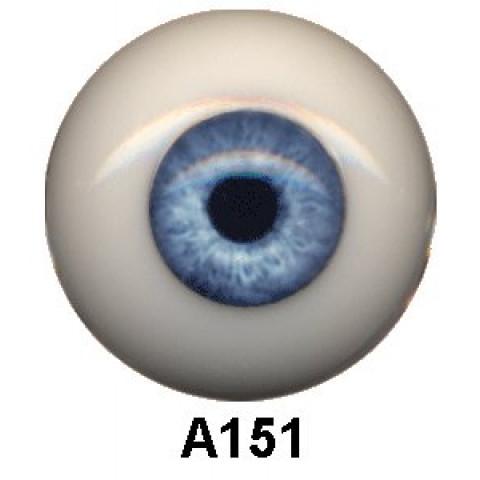 Olhos em Silicone Eyeco Ultra Cor A151  -19mm