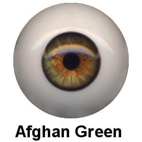 Olhos em Silicone Eyeco Ultra Cor Afghan Green -23mm