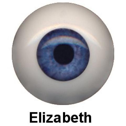 Olhos em Silicone Eyeco Ultra Cor Elizabeth  ( vários tamanhos)