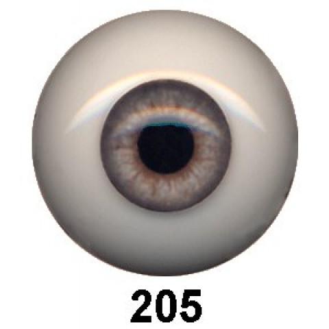 Olhos em Silicone Eyeco Ultra Cor p205  -23mm