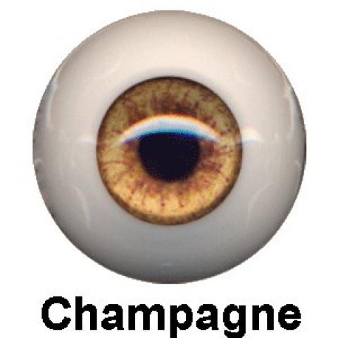 Olhos Eyeco Champagne-20mm