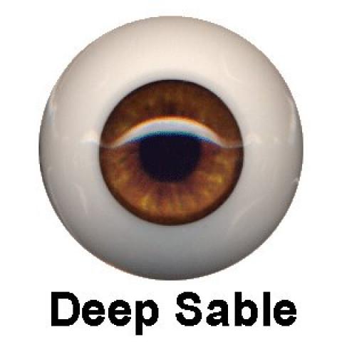 Olhos Eyeco Deep Sable-22mm