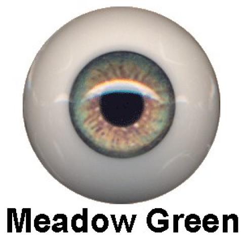 Olhos Eyeco Meadow Green-22mm