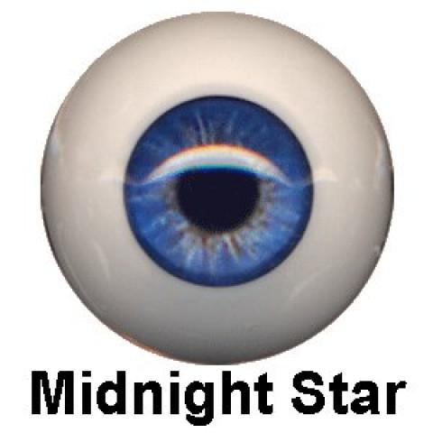 Olhos Eyeco Midnight Star  ( vários tamanhos)