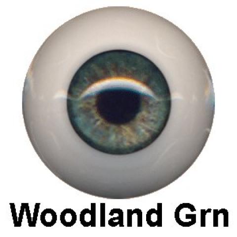 Olhos Eyeco Woodland Green-24mm