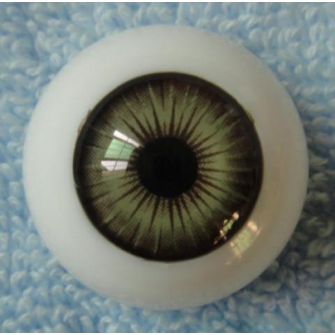Olhos Mel esverdeado 22mm