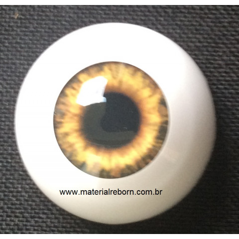 Olhos Sunrise Brown-12mm