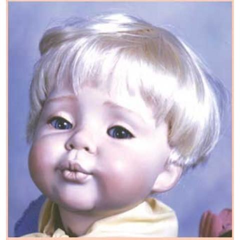 Peruca sintética  Dutch boy -loiro claro 12-13