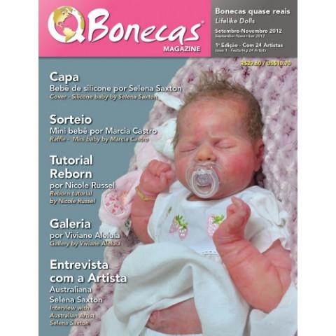 Revista Q Bonecas 1 Edição UNICO Exemplar