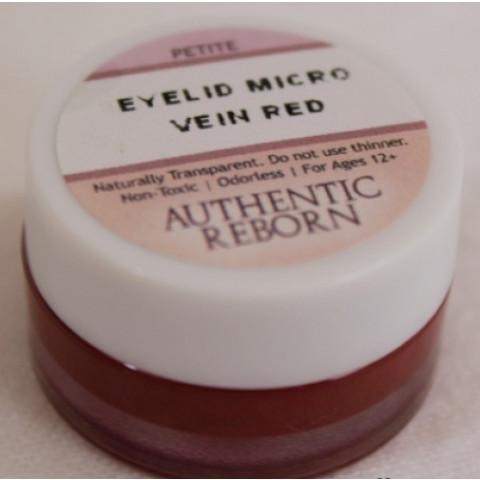 Tinta AR Eyelid Micro Vein Red( 4 ou 8 gramas) PROMOÇÃO-4g