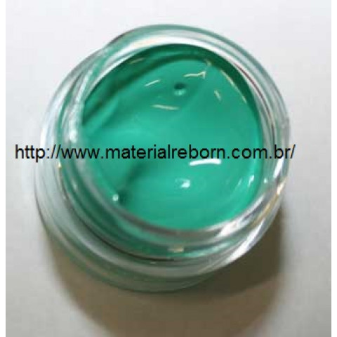 Tinta Phthalo Green 6  Genesis ( 15 gramas) PROMOÇÃO