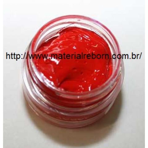 Tinta vermelha ( 4 ou 8 gramas) PROMOÇÃO-4g