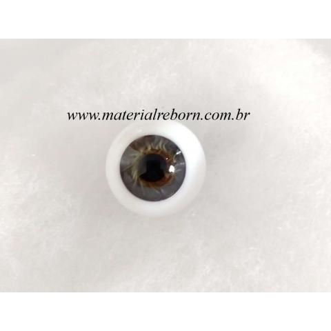 Olhos de vidro ESFERA INTEIRA Topazio ( vários tamanhos)