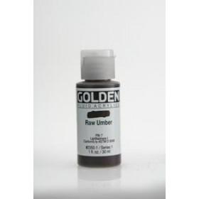 Tinta Golden air dry Raw Umber  ( 4 gramas) Nao precisa forno