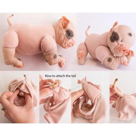 Corpo importado para Porquinho dormindo - Petal e Piglet