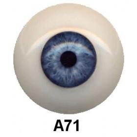 Olhos em Silicone Eyeco Ultra Cor A071  ( vários tamanhos)