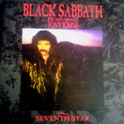 BLACK SABBATH - Seventh Star (CD)