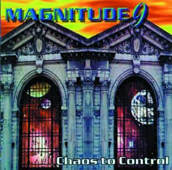 MAGNITUDE 9 - Chaos To Control (CD), Progressive Metal USA a la Dream Theater, Raridade, Ultimas cópias em estoque !!! FRETE GRÁTIS