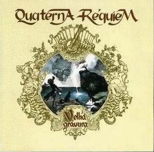 QUATERNA REQUIEM - Velha Gravura (CD)