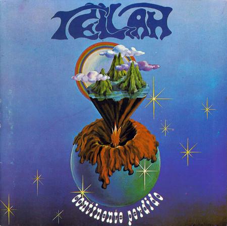 TELLAH - Continente Perdido (LP-Vinyl), Rare Brazilian Progressive a la PFM-SAGRADO-TERCO, Zerado