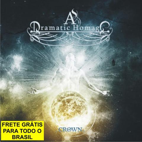 AS DRAMATIC HOMAGE - CROWN (CD) Avant-Garde-Metal - FRETE GRÁTIS
