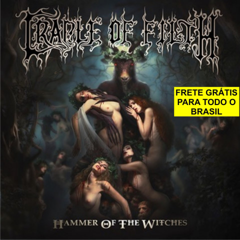 CRADLE OF FILTH - Hammer Of The Witches (CD+2 Bonus) Black Metal - FRETE GRATIS
