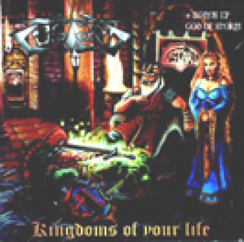 CUSTARD - Kingdoms of Your LIfe (CD), Power Metal Alemanha a la Hamerfall, Raridade, Ultimas cópias em estoque !!! FRETE GRÁTIS