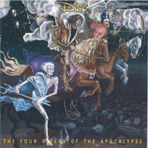 DICE - 4 Riders of Apocalypse (CD), Rock Progressivo Sueco de 1978, Japan Press, a la KAIPA, GENTLE GIANT, GENESIS e YES, FRETE GRÁTIS