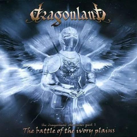 DRAGONLAND - The Battle Of The Ivory Plans (CD), Heavy Metal melodico Italiano a la Rhapsody, Raridade, Ultimas cópias em estoque !!! FRETE GRÁTIS