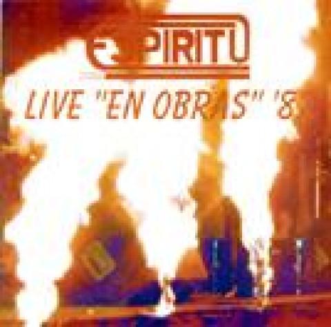 ESPIRITU - Live en Obras 82 (CD), Rock Progressivo Argentino, Raridade, Ultimas cópias em estoque !!! FRETE GRÁTIS