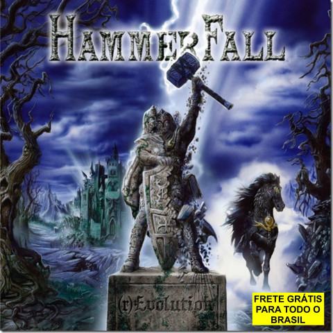 HAMMERFALL – (r)Evolution (CD ) - Melodic Heavy Metal - FRETE GRÁTIS