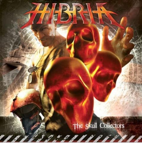 HIBRIA - The Skull Collectors, Brazilian Power Metal, Raro, Ultimas Copias em Estoque (CD)