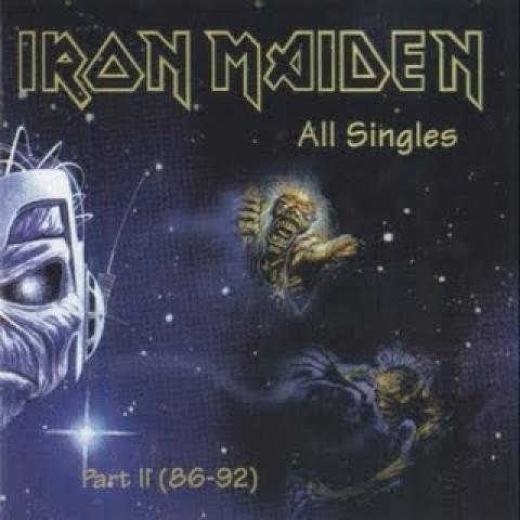 IRON MAIDEN - All Singles Part-II - 1986-a-1992 (CD) Importado - Lacrado - FRETE GRÁTIS