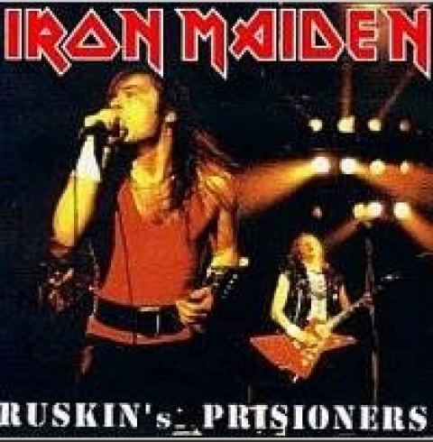 IRON MAIDEN - Ruskin's Prisioners (CD) - FRETE GRATIS