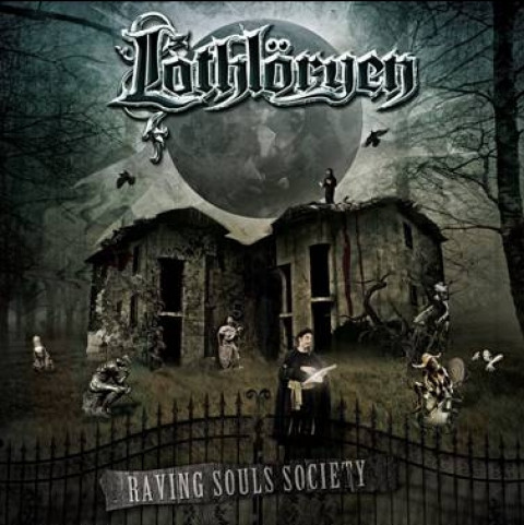 LOTHLORYEN - Raving Souls Society (CD)