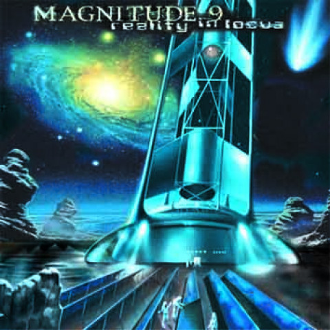 MAGNITUDE 9 - Reality in Focus (CD), Progressive Metal USA a la Dream Theater, Raridade, Ultimas cópias em estoque !!! FRETE GRÁTIS
