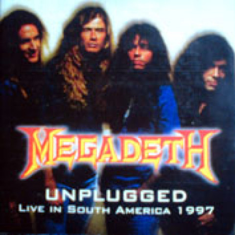 MEGADETH - Unplugged S.America 97 (CD)