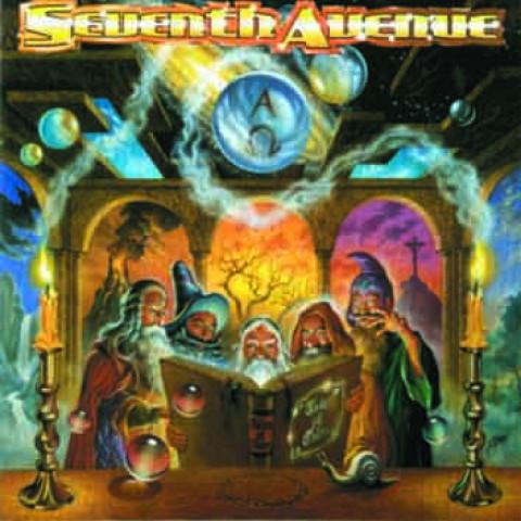SEVENTH AVENUE - Tales of Tales(CD), Melodic Power Metal Alemanha a la Helloween, Raridade, Ultimas cópias em estoque !!! FRETE GRÁTIS