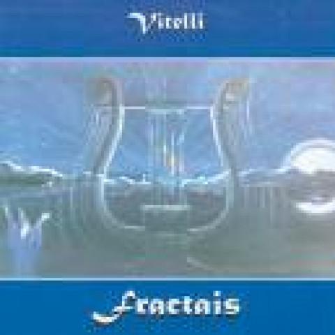 VITELLI - Fractais (CD), New Age/Yoga/Meditação Brasileiro, Raridade, Ultimas cópias em estoque !!! FRETE GRÁTIS