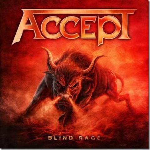 ACCEPT  - Blind Rage (CD+DVD) Traditional Heavy Metal - FRETE GRATIS