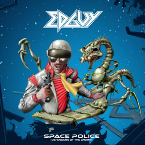 EDGUY - Space Police (2CD)  Melodic Heavy Metal - FRETE GRÁTIS